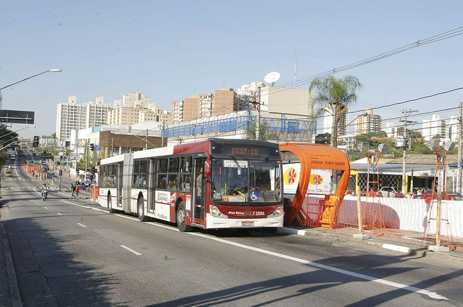 Corredor de ônibus - Avenida Francisco Morato