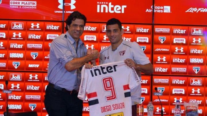 Diego Souza, um dos reforços