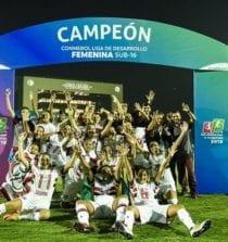São Paulo campeão da Libertadores Feminina Sub-16