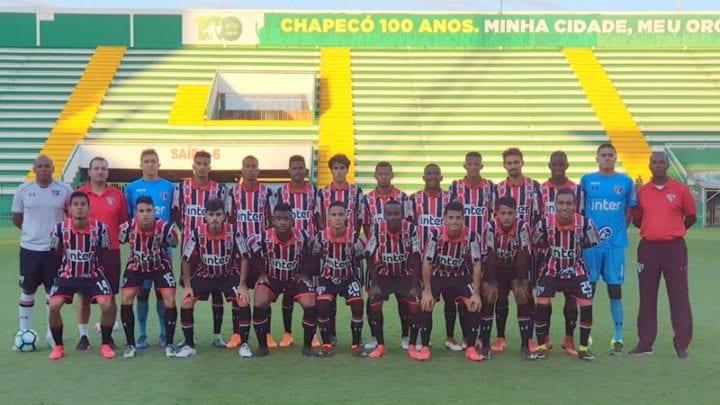 Sub-20 se dá bem em Chapecó