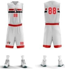 Uniforme do time de Basquete