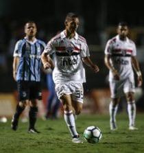 Antony contra o Grêmio