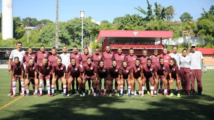 Futebol feminino Tricolor