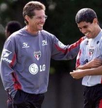 Oswaldo de Oliveira e Ricardinho no São Paulo