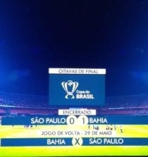 São Paulo x Bahia