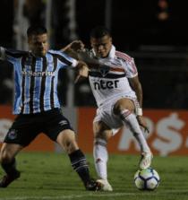 São Paulo e Grêmio empataram no Morumbi em 2018
