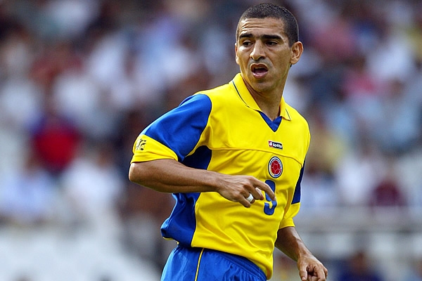 Aristizábal pela seleção da Colômbia