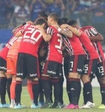 São Paulo perde no Mineirão