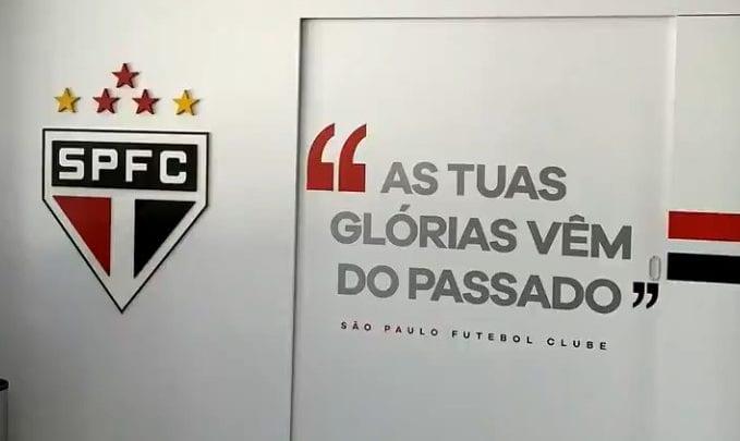 De Cara Nova Ct Do São Paulo Ganha Frases E Imagens