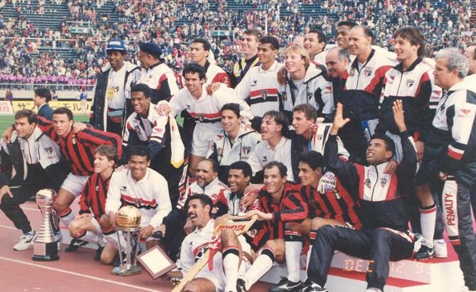 São Paulo campeão mundial de 1993