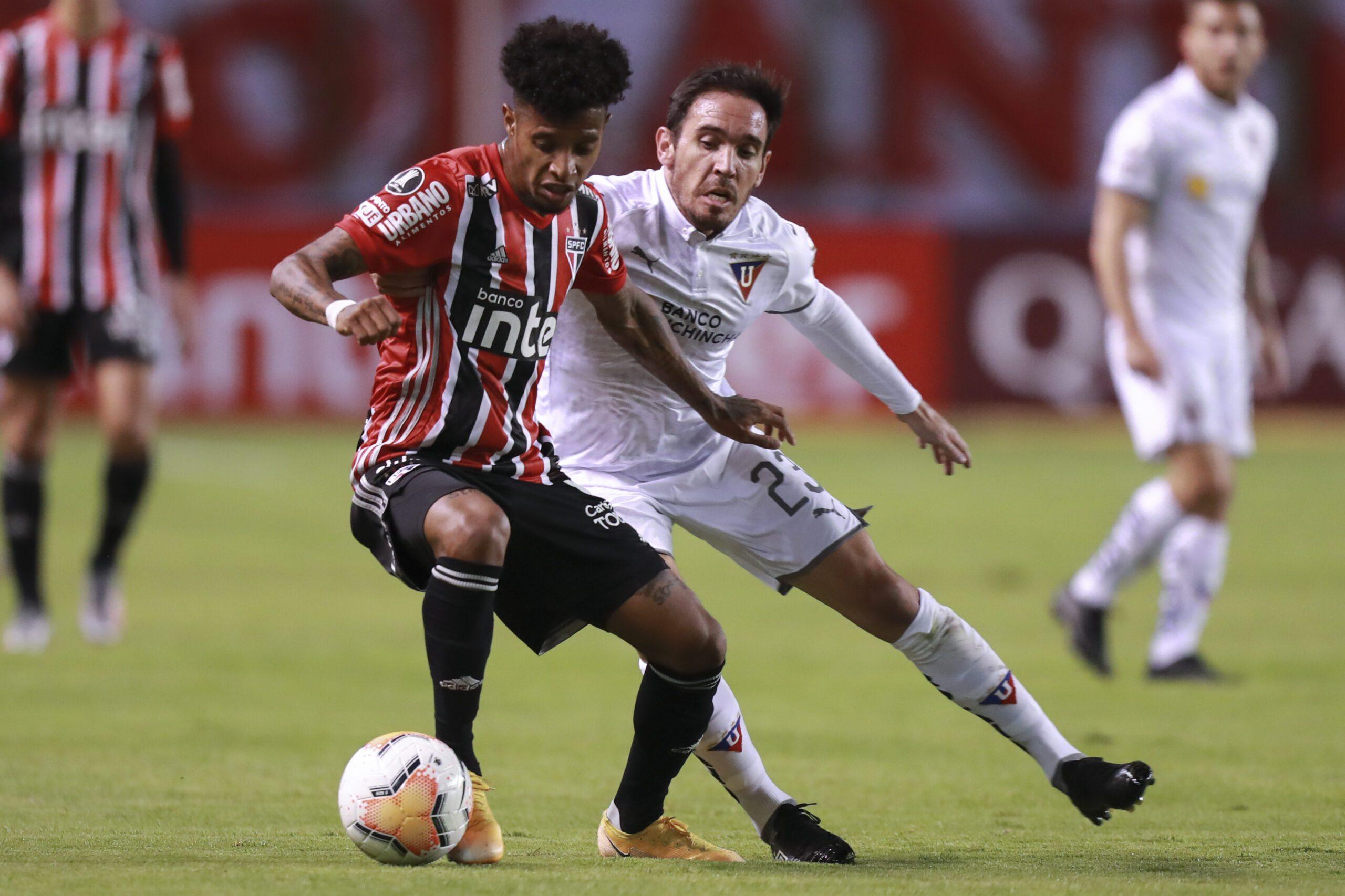 São Paulo perde para a LDU em Quito pela Libertadores