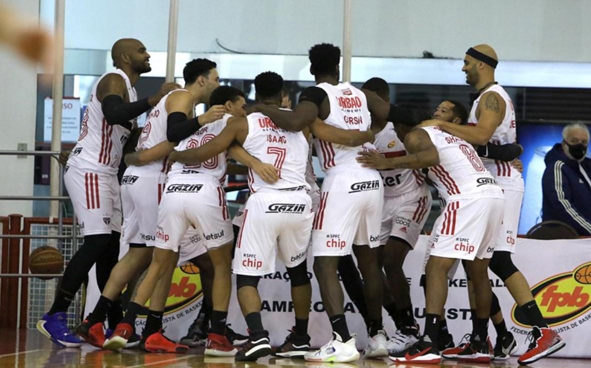 São Paulo e Liga Sorocabana se enfrentam hoje pelo Paulista de Basquete