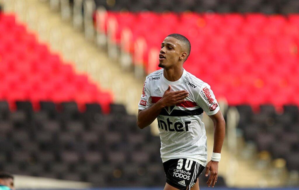 Brenner é o artilheiro do São Paulo em 2020 com 20 gols marcados