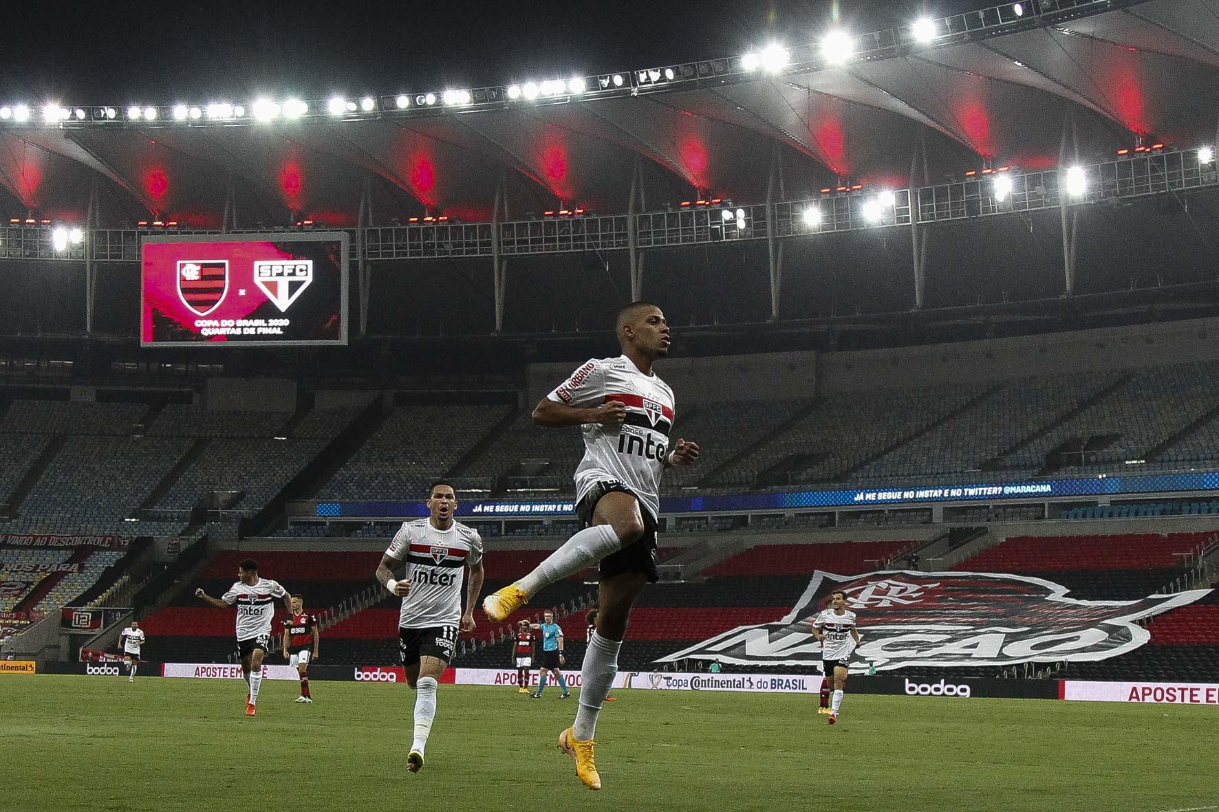 São Paulo e Flamengo se enfrentam no Morumbi pela Copa do Brasil