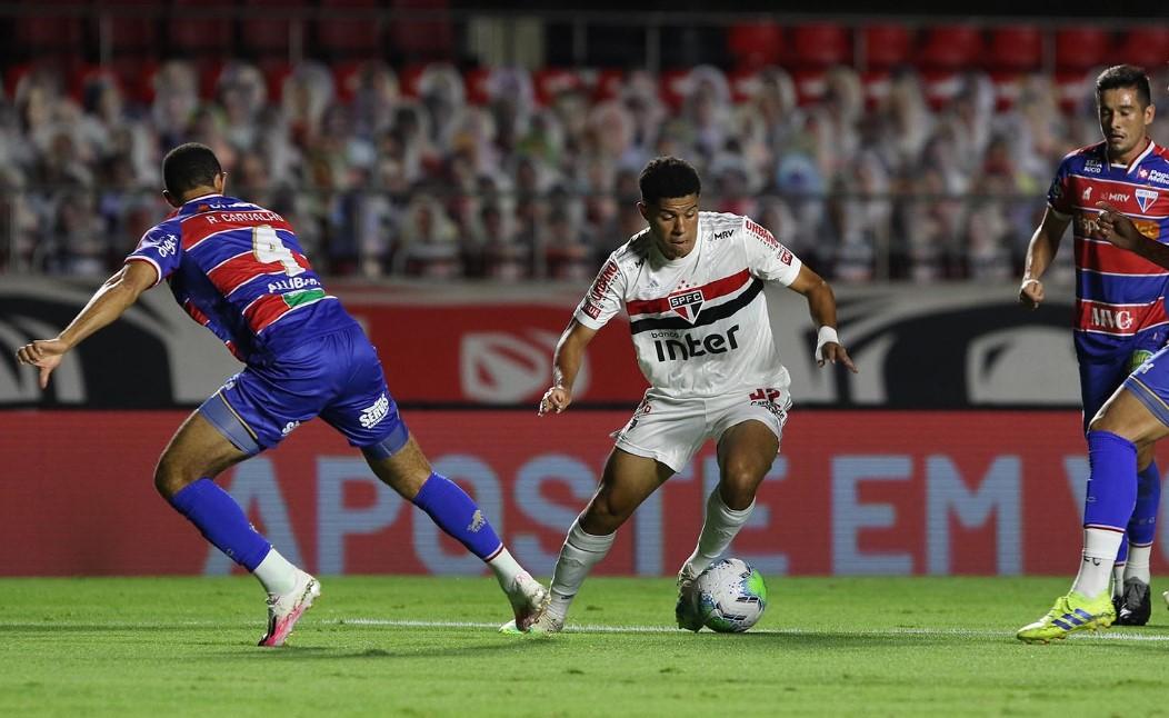 São Paulo e Fortaleza se enfrentar pelo Brasileirão