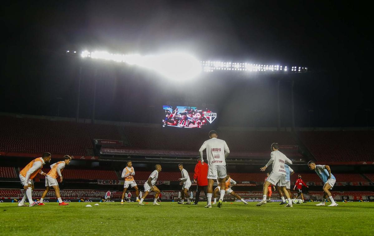 São Paulo e Vasco se enfrentam no Morumbi