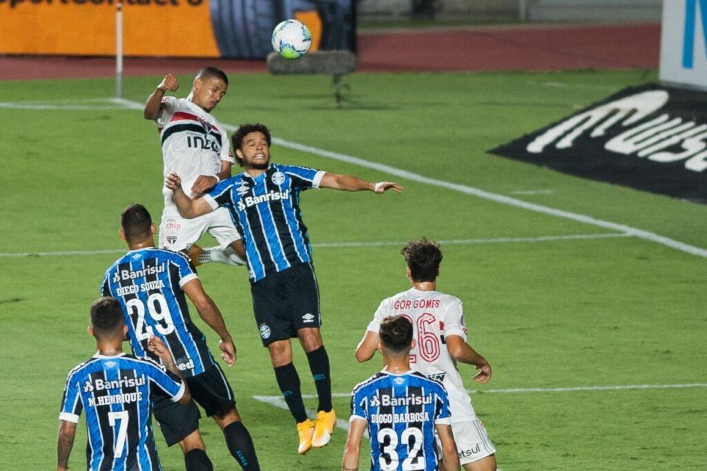 São Paulo x Grêmio pelas semifinais da Copa do Brasil