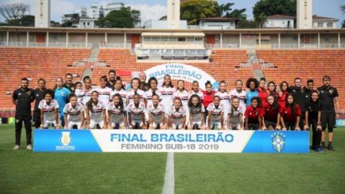 O Futebol Feminino do Tricolor vai entrar na disputa pelo Brasileirão Sub-18