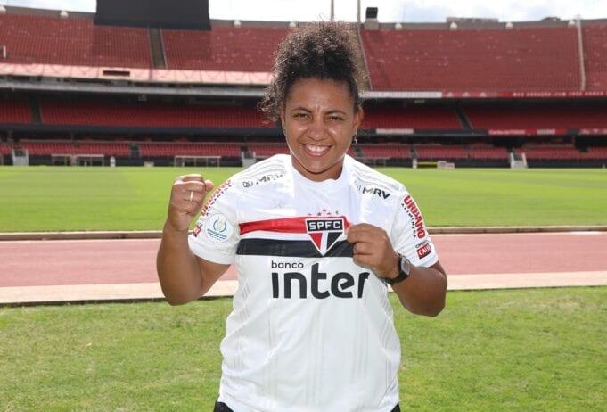 Carla Nunes é anunciada no São Paulo
