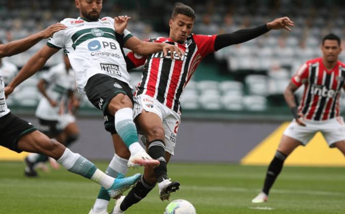 São Paulo e Coritiba jogam sábado (23) pela 32ª rodada do Campeonato Brasileiro
