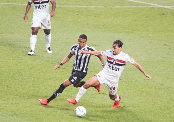 São Paulo x Santos no Morumbi