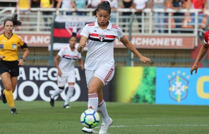 São Paulo vence o Corinthians no Brasileirão Feminino Sub-18