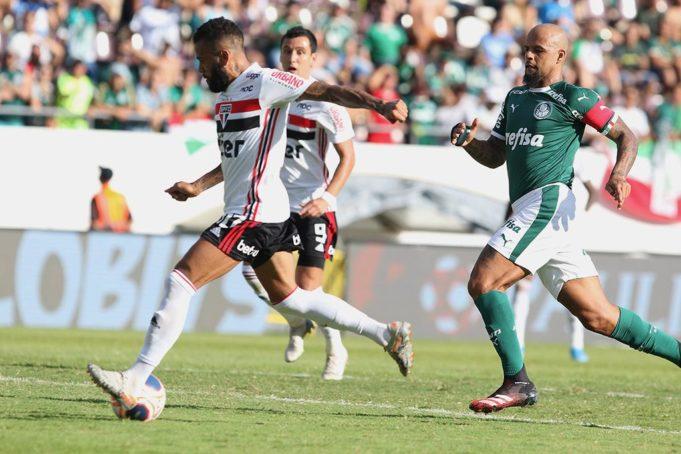 São Paulo e Palmeiras se enfrentam no Morumbi