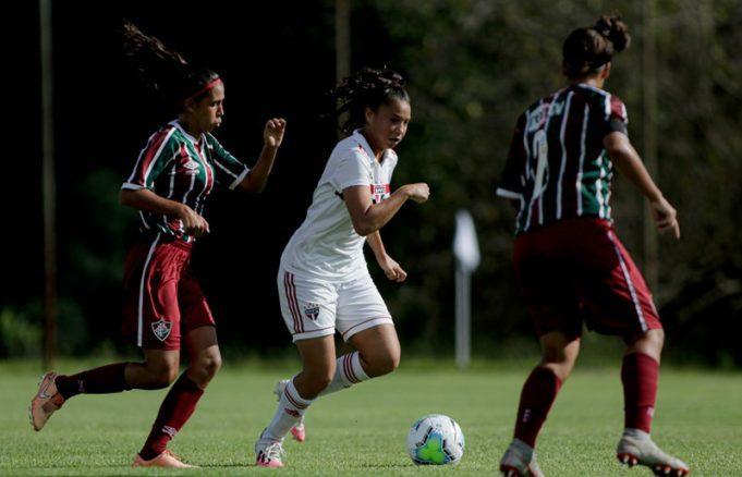 São Paulo e Avaí Kinderman se enfrentam no Brasileirão Feminino Sub-18