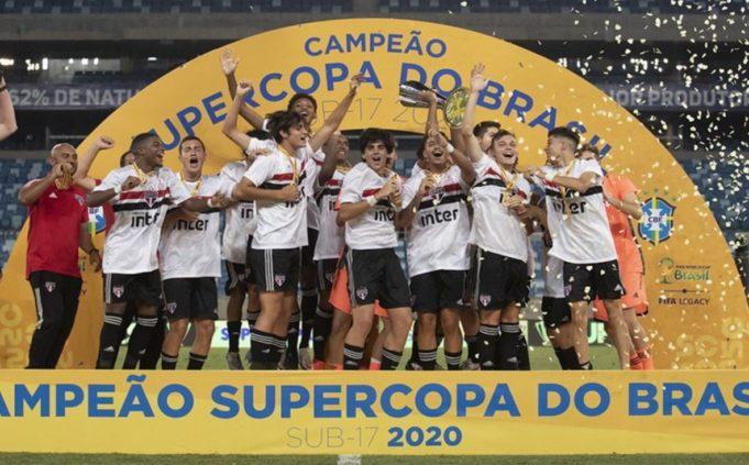 São Paulo é Campeão da Supercopa do Brasil Sub-17
