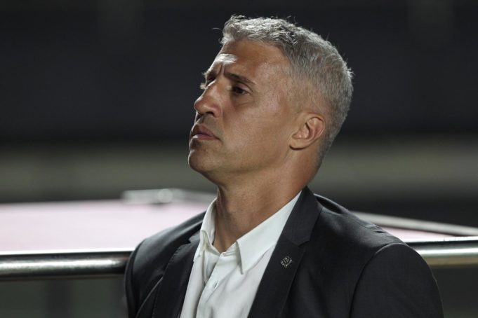 Hernán Crespo agradece Fernando Diniz após vitória do São Paulo no Paulistão