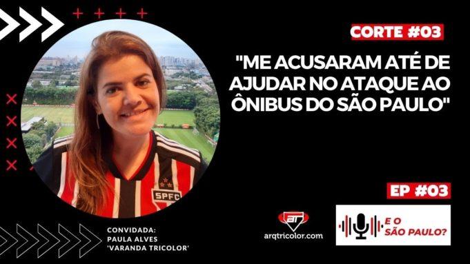 """O SPFC foi eliminado pelo Mirassol e dois dias depois teve futmesa"" - Paula Alves   CortesAT #02"