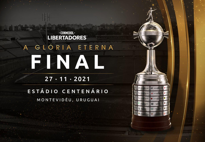 Conmebol confirma a data da final da Libertadores 2021